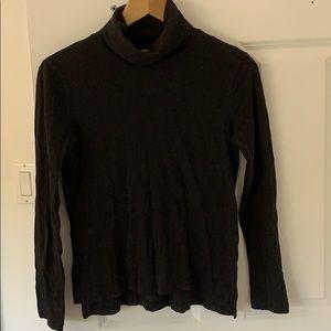 Madewell black turtleneck long sleeve t-shirt